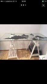 White desk/drawing table
