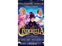 Cinderella tickets x2