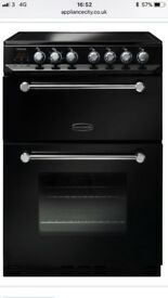 Brand new Rangemaster KCH60ECBLC 60cm Kitchener Electric Ceramic Cooker in black