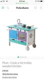 Plum cook-a-lot trolley kitchen BNIB
