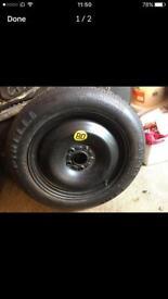 Pirelli Space Saver Tyre 125/85/16
