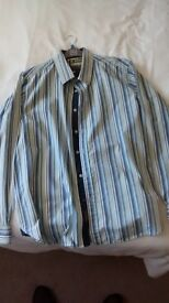 Joe Brown Stripped Shirt XL