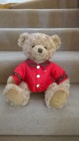 Harrods Collectible Christmas Teddy Bear