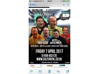 Motherwell masters darts tickets
