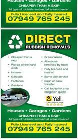 🟡 DIRECT RUBBISH REMOVAL WASTE REMOVALS 🟡