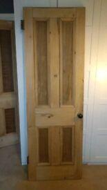 Original Tenement Pine Door