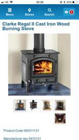 Brand New woodburner stove for sale, still in box, Regal 2, collection only from Burbage LE10