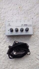 Behringer ha400 microamp headphone amplifier
