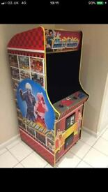 Cosmic combat fighter arcade machine