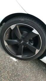 """Audi Rotor Rotar Alloys 18 inch alloy 18"""" will fit VW"""