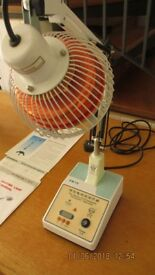 CQ12 mineral heat lamp - arthritis relief