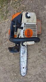 stihl ms200t, chainsaw,