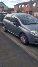 Fiat grande punto 56 plate