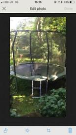 Telstar 12ft trampoline with ladder