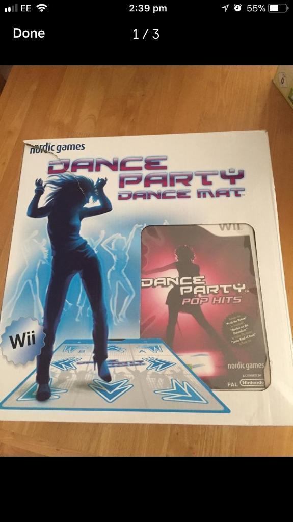 Wii Dance Party Dance Mat