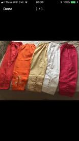 Brand new pure cotton Ladies trousers, size L