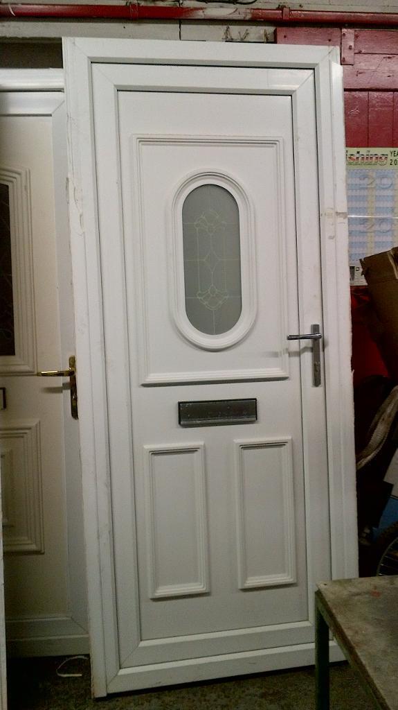 Pvc Door Interior Room Door From Zhejiang Awesome Door: Upvc Front Door With Frame 34 Inches Wide X 81 Inches High