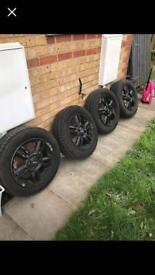 mini cooper 15inch wheels new tyres