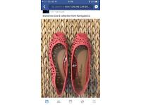 Brand new coral sandals size 6