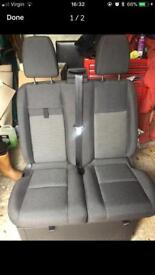 Transit 66 plate front seats