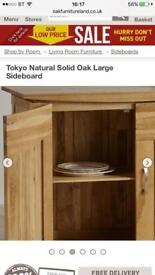 SIDEBOARD Natural Oak