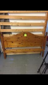 King size pine bed frame only £75ono
