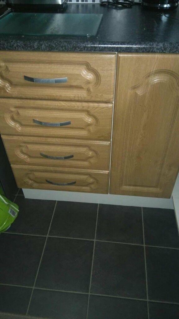 9 kitchen cuboard doors 50 ono in dunmurry belfast gumtree