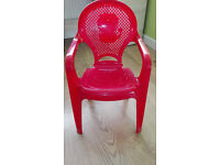toddler plastic chair