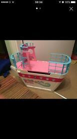 Barbie cruise ship