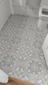 Bathroom tiling kit