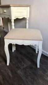 Dressing Table Shabby Chic Melody Maison Console Table & Stool