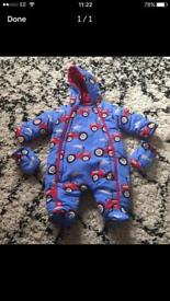 Lilly and jack snowsuit 0-3months