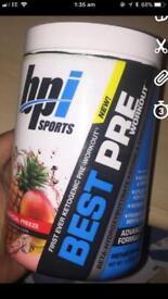 BPI Sports PRE Workout Tropical Flavour