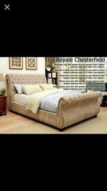 Sleigh bed 2018 new design all sizes and colours available free delivery!!!