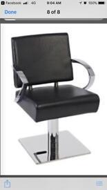 Hydraulic gas lift salon chair