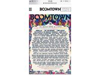 Boomtown chapter 10 tickets x2