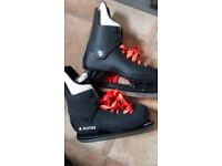 Ice hockey boots size 9
