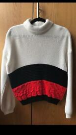 WOMENS M&S LIMITED EDITION JUMPER SIZE 10