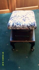 Adjustable Foot Stool