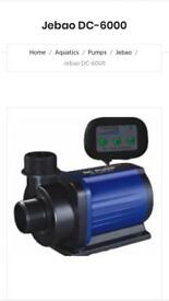 Aquarium: Jebao Dc-6000 Pump (Brand New Never Been Used)