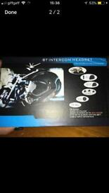 Motorbike headset