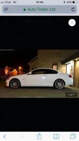 White e92 M Sport BMW red leather mot fsh 3 door