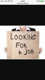 I'm looking for work