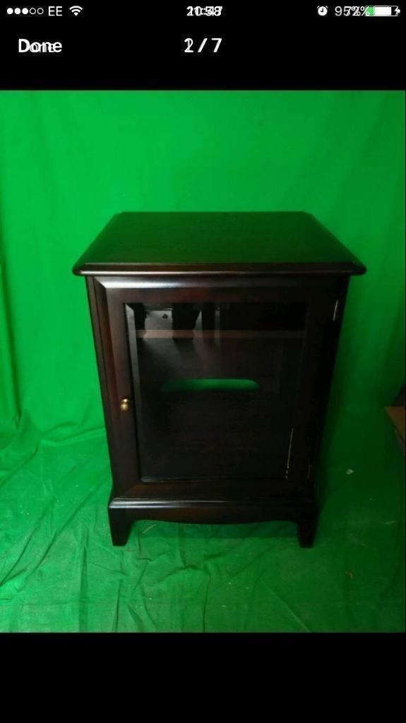 Stag hifi cabinet FREE DELIVERY PLYMOUTH AREA