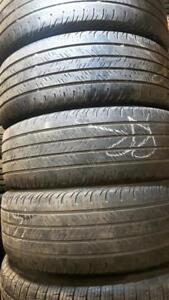 205/55/16 Two used all season Continental tires