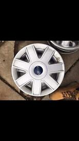 Ford Fiesta wheel trims