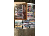 130+ DVDs mixed genre