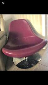 Retro ikea swivel chair vintage