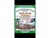 Free Scrap metal collection T & C and skip bags call today for a free quote or collection