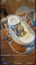 Ingenuity's baby convertme swing 2 seat